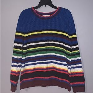 Colorful Chunky Sweater